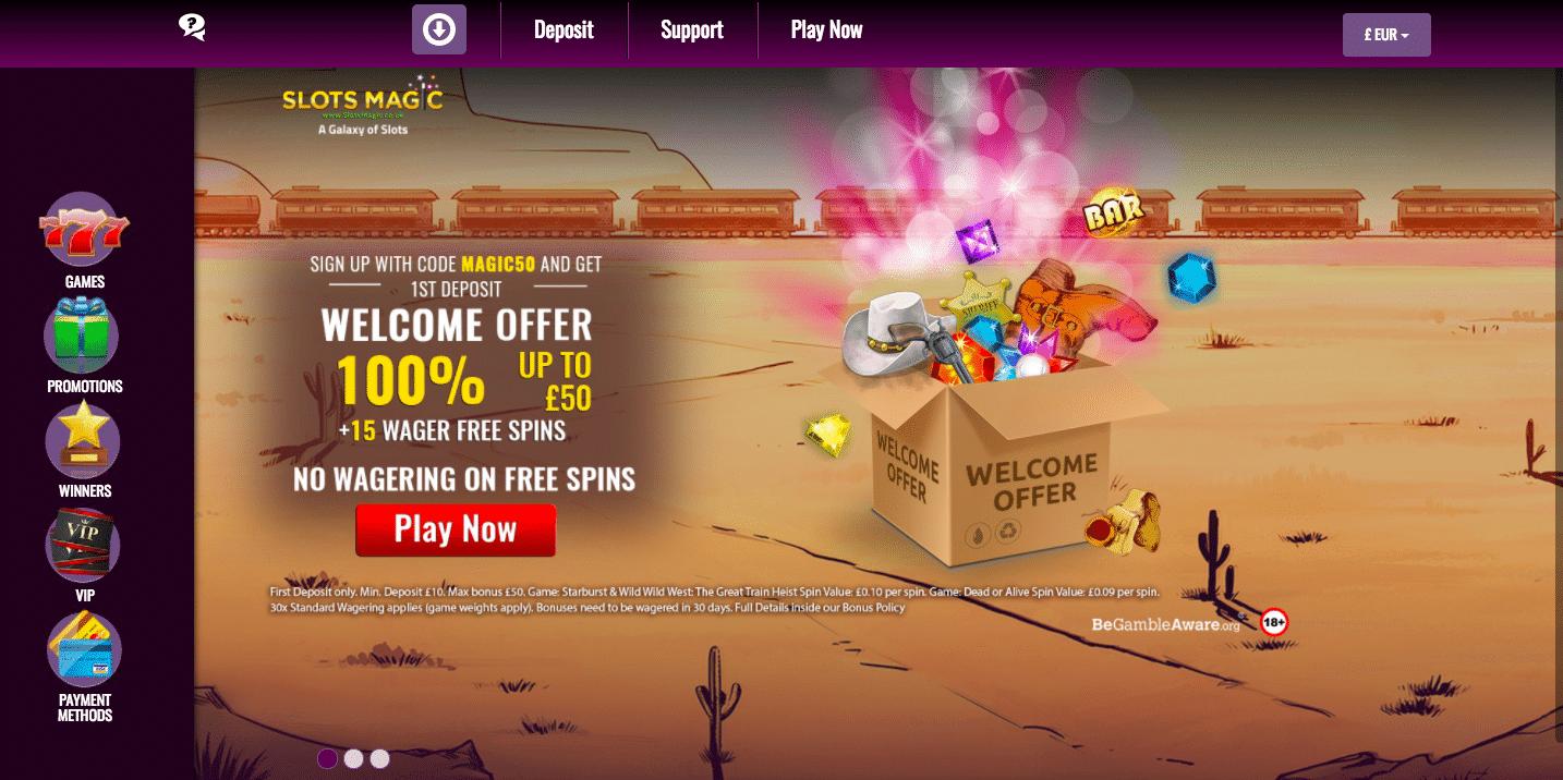 slotsmagic onlone casino