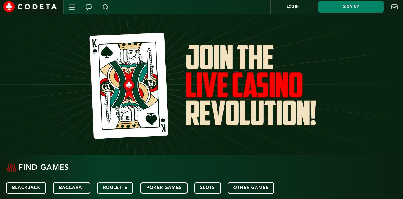 codeta online casino