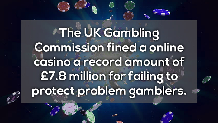 uk gambling commission fined a online casino a record amount of 7.8 million crazy facts about online gambling