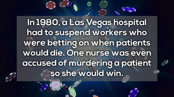 betting on when patients would die crazy facts about online gambling