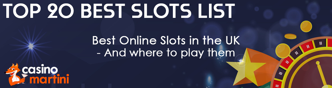 New Slots Uk 2020 Top 20 Best Online Slot List Rtp Where To