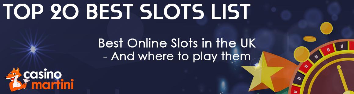 The Best New Slots Uk 2020 Top 20 Best Online Slot List