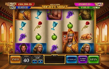 mighty midas slot video