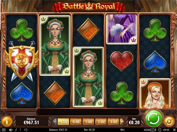 where to play battle royal slot